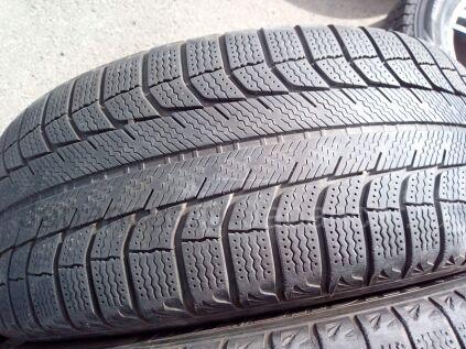 Зимние шины Michelin 225/55 17 дюймов б/у в Челябинске