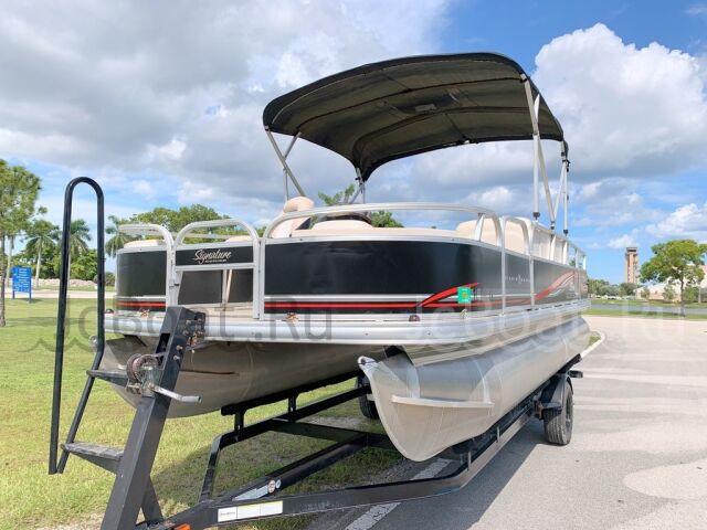 катер SUN TRACKER FISHING BARGE 21 2012 года