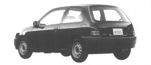 Toyota Starlet REFLET 3DOOR 1998 г.