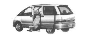 Toyota Estima Emina WELCAB, SIDE LIFT-UP SEAT CAR 1998 г.