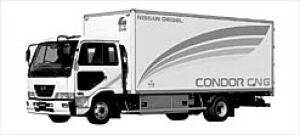 Nissan Diesel Condor CNG 2003 г.
