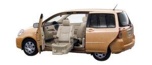 Toyota Raum Welcab  Passenger Lift-up Car (Panorama type), A type 2007 г.