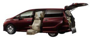 Honda Odyssey Side Lift-up Seat Version 2014 г.