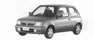 Nissan March 3DOOR HATCH BACK G# 1992 г.