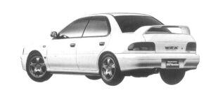 Subaru Impreza PURE SPORTS SEDAN WRX TYPE RA STi VER.IV 1997 г.