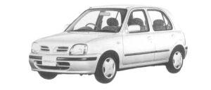 Nissan March 5DOOR 1300A# 1997 г.