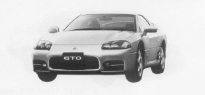 Mitsubishi Gto SR 1999 г.