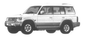 Mitsubishi Pajero Kick Up Roof Wide XR-II 1995 г.