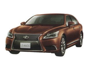 Lexus LS460L EXECUTIVE package (4-seater) 2017 г.