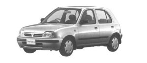 Nissan March 5 DOORS 1000i z-f 1994 г.