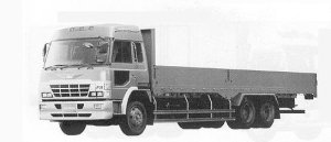 Hino Super Dolphin FR HIGH ROOF 11.25T 1991 г.
